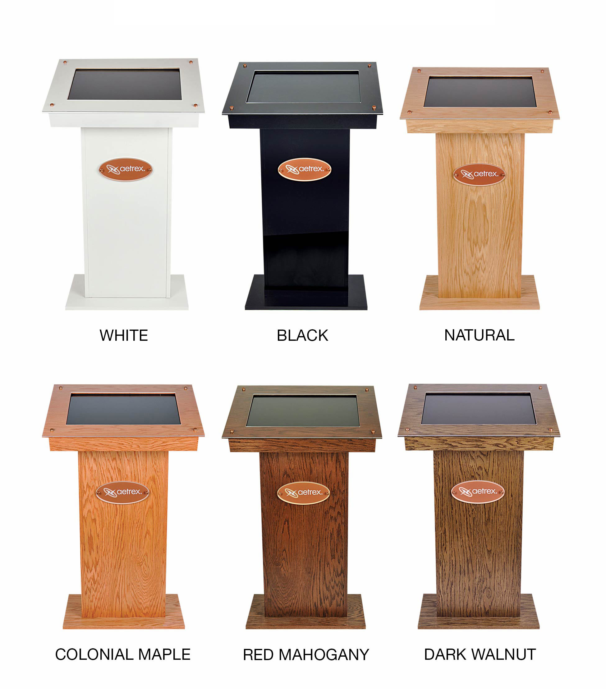 iStep Podium Color Options